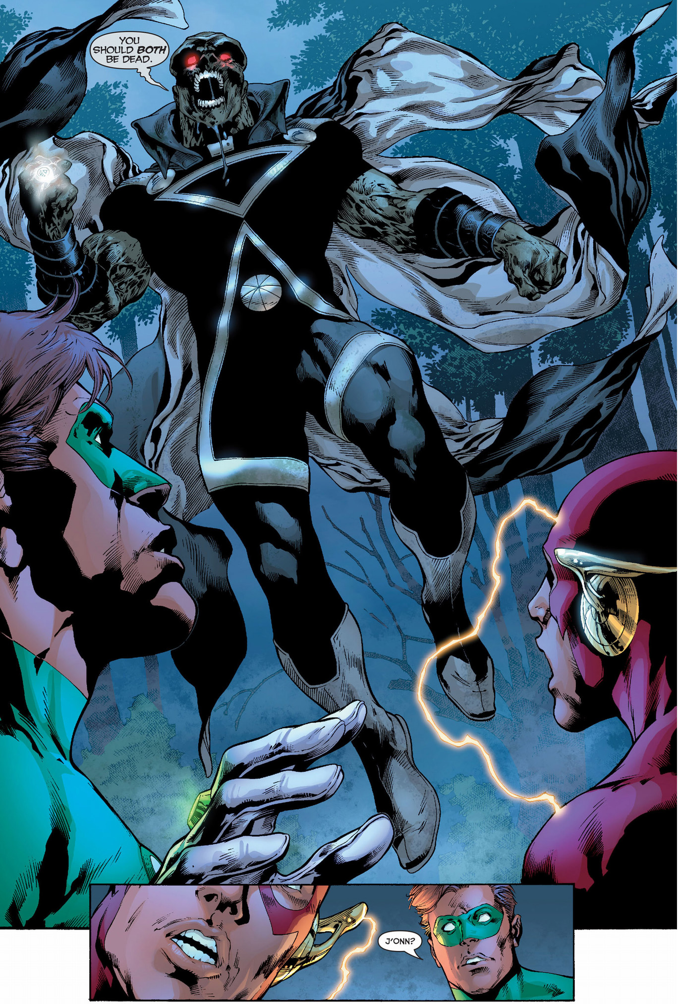 black lantern martian manhunter