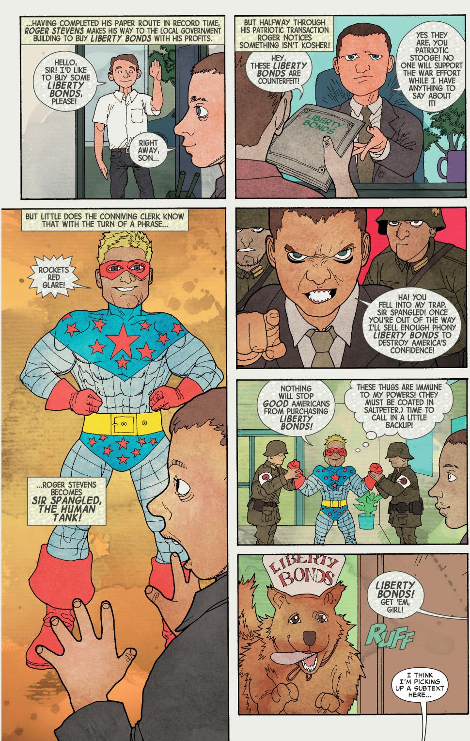 captain america drew comics as a kid