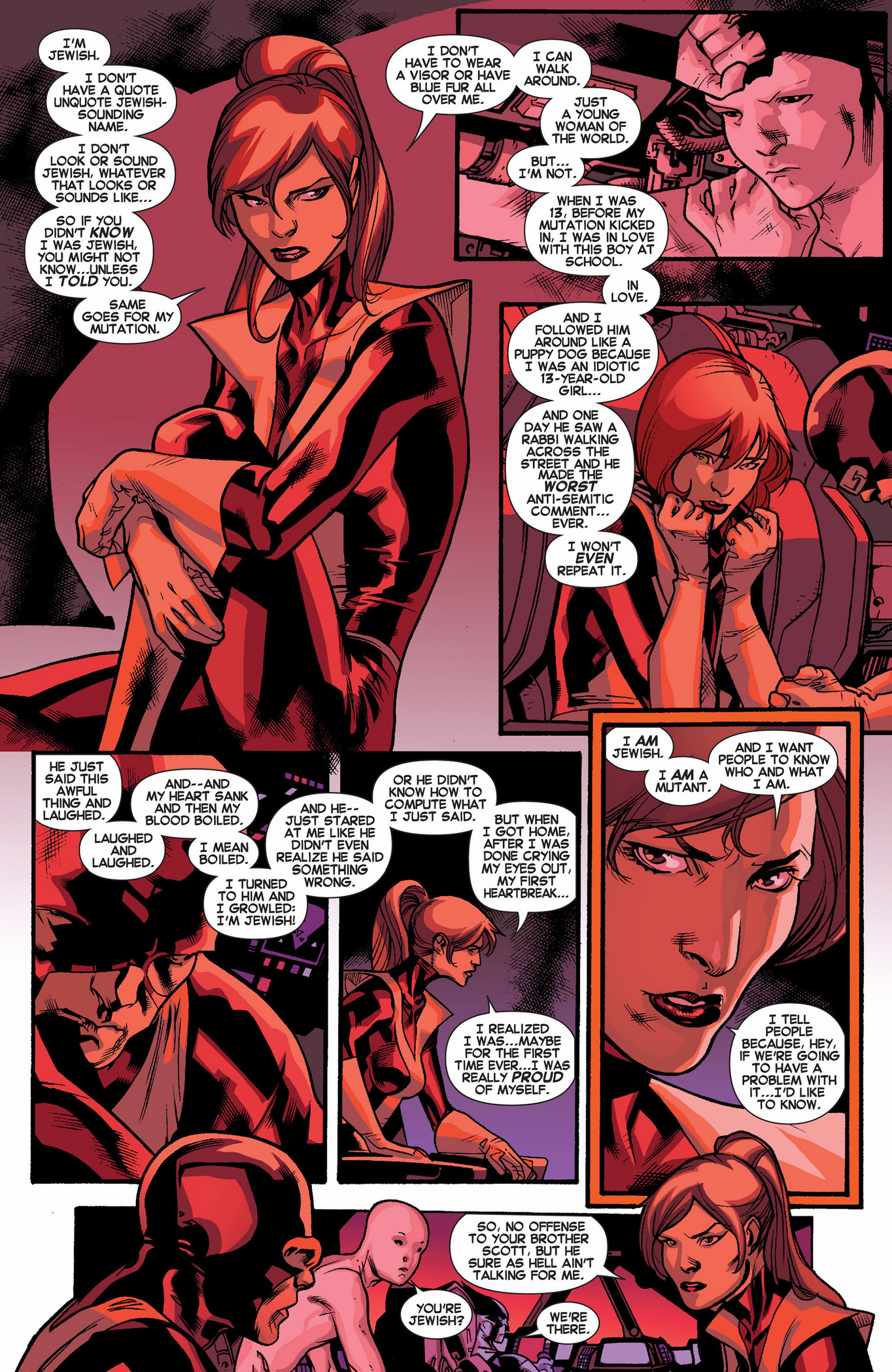 kitty pryde's first heartbreak