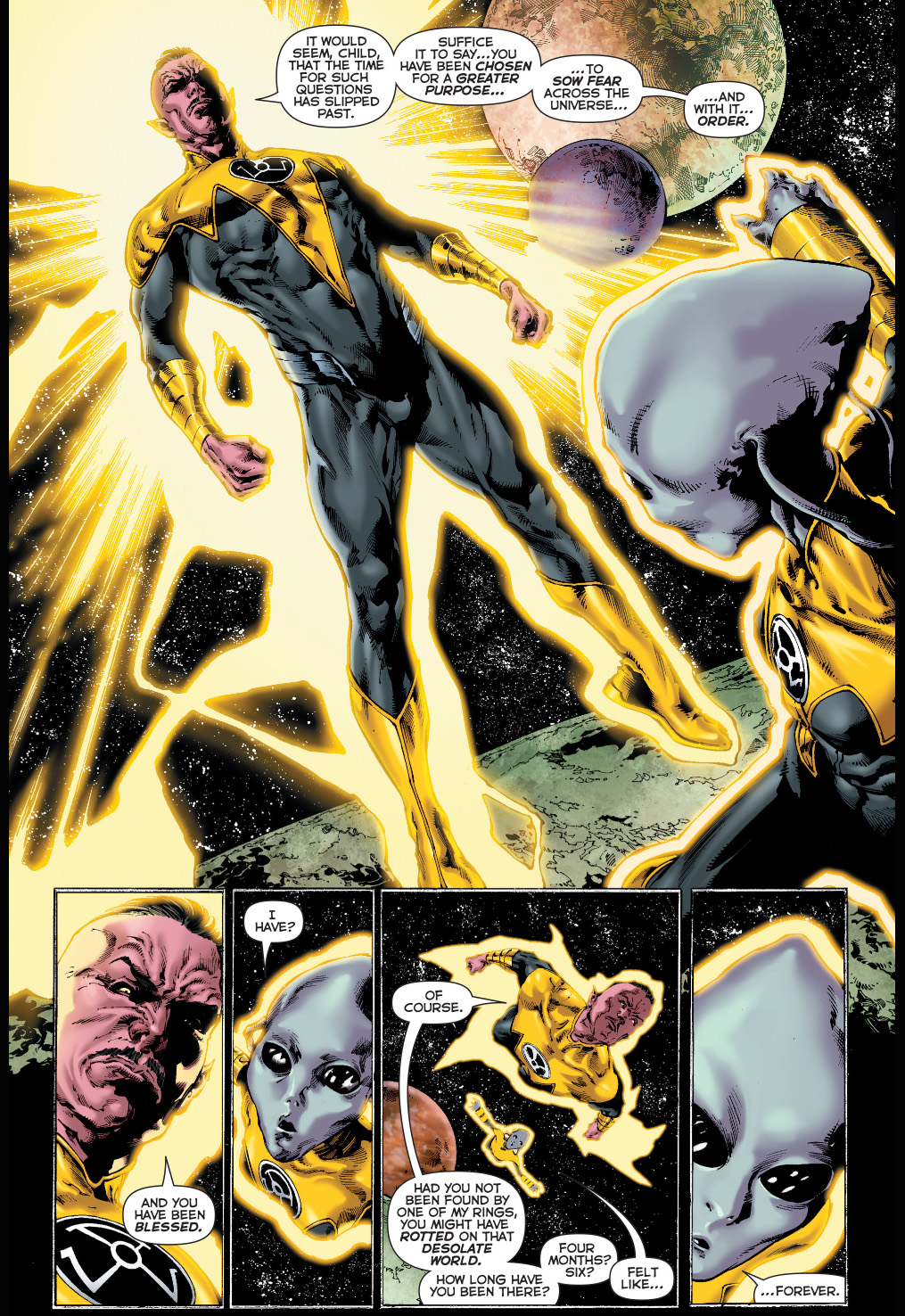 nax joins the sinestro corps