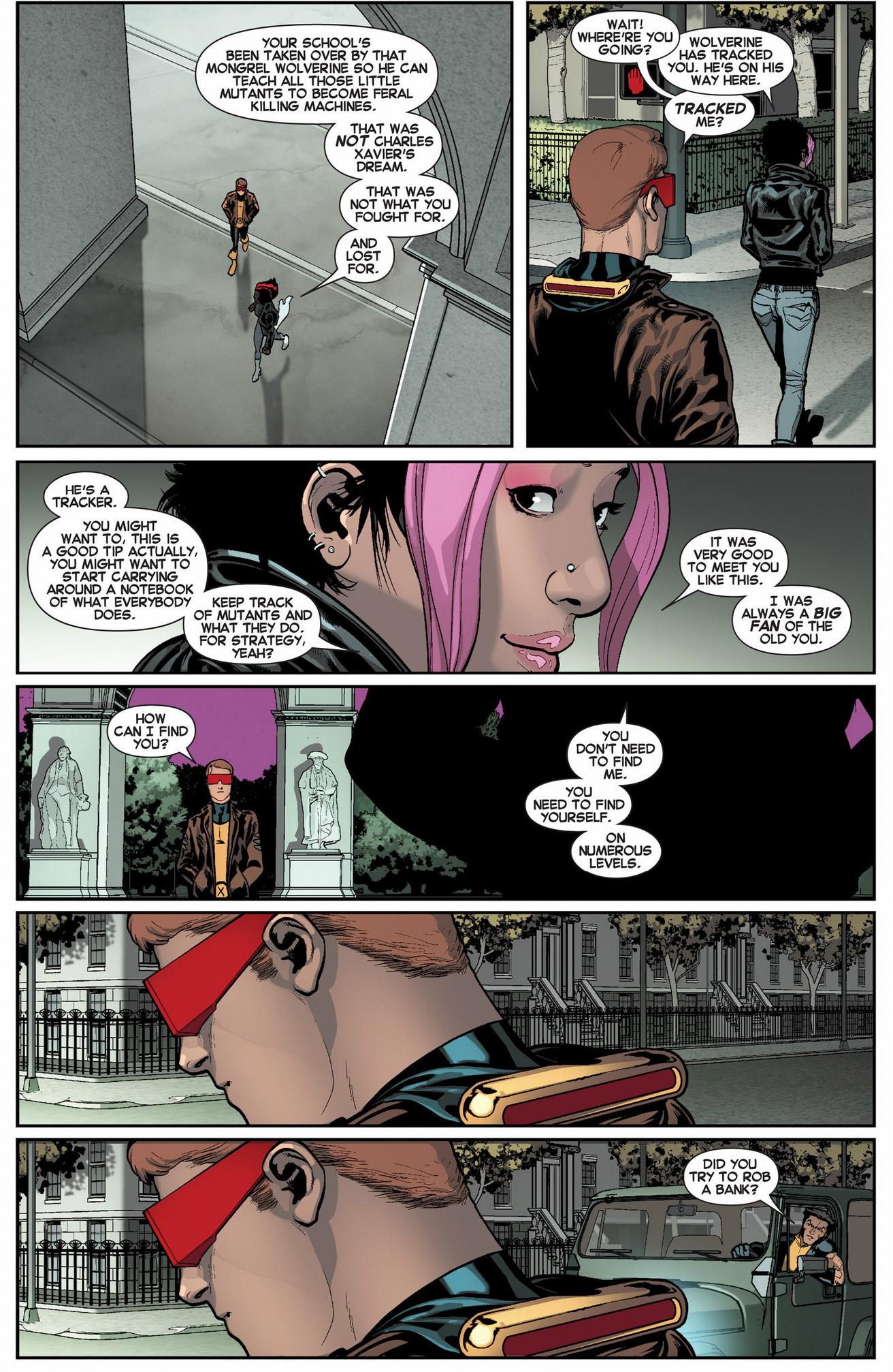original 5 cyclops meets mystique