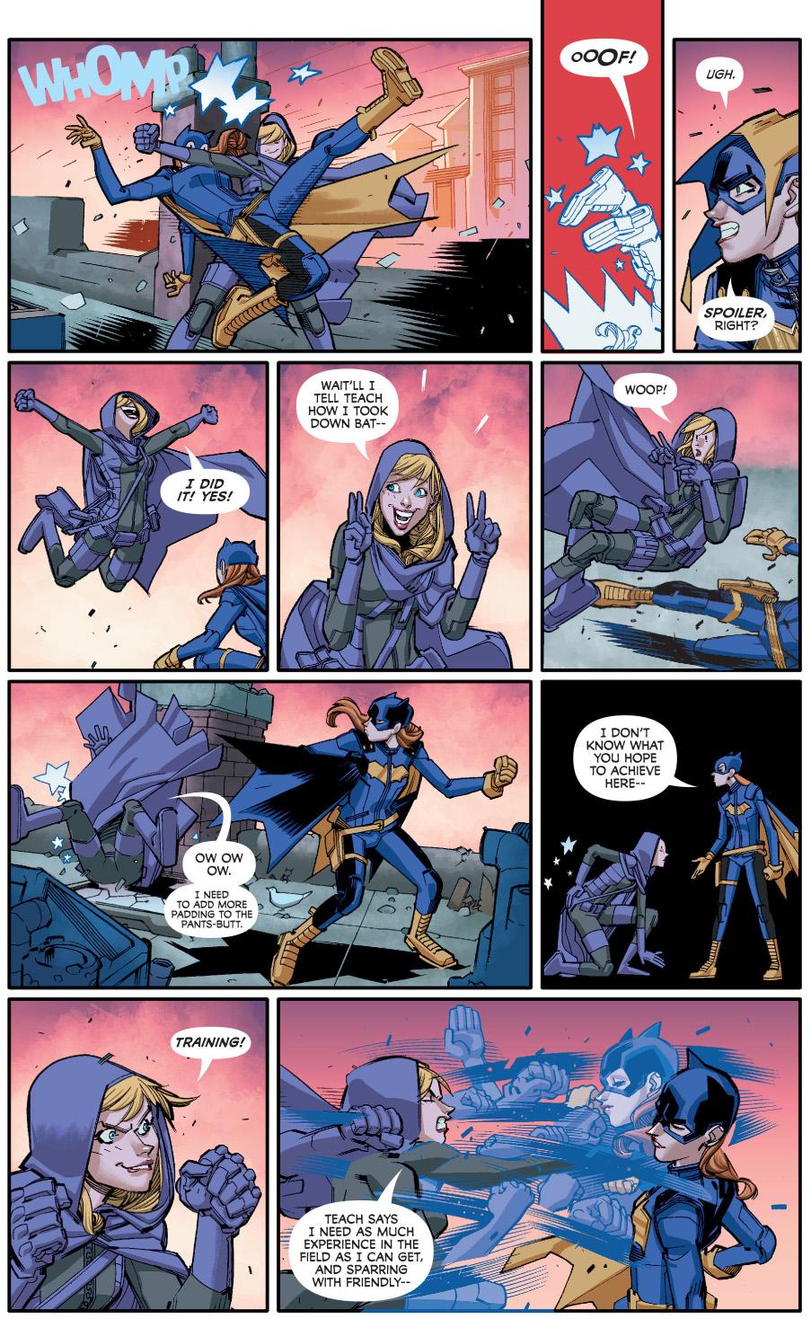 spoiler ambushes batgirl