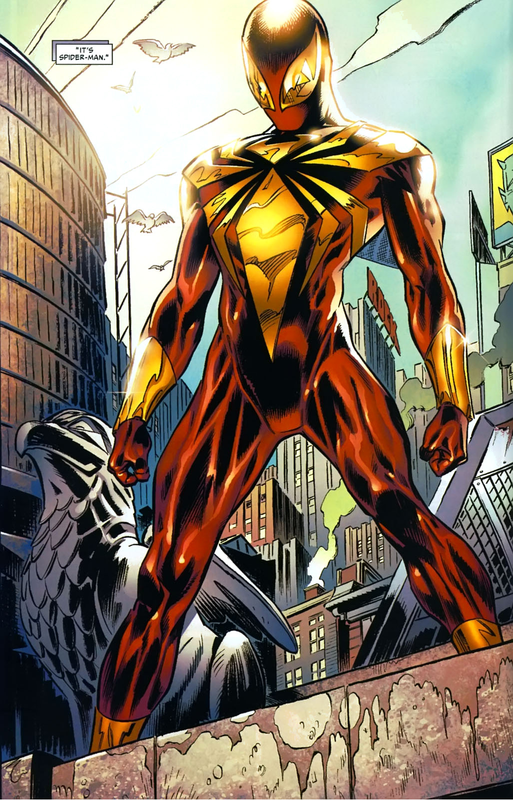 the iron spider suit