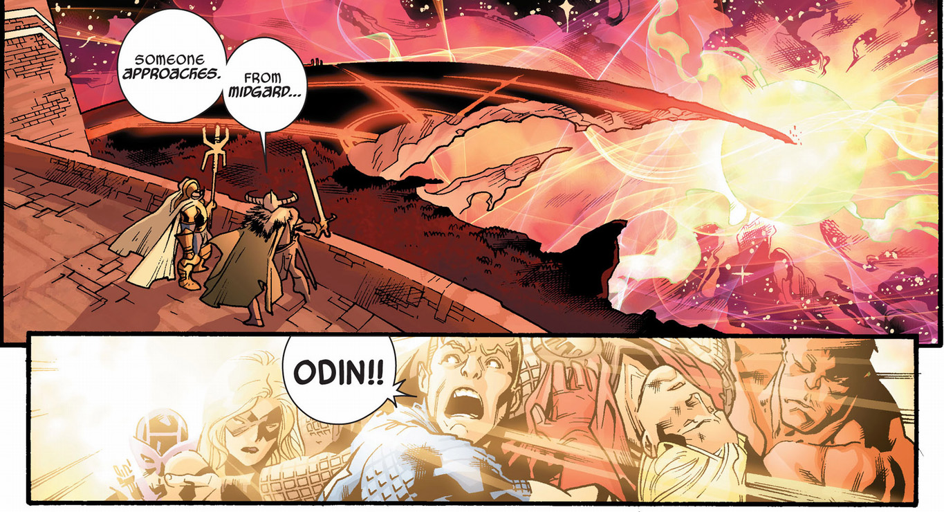 captain america tells odin off