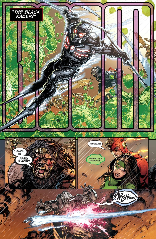 darkseid summons the black racer