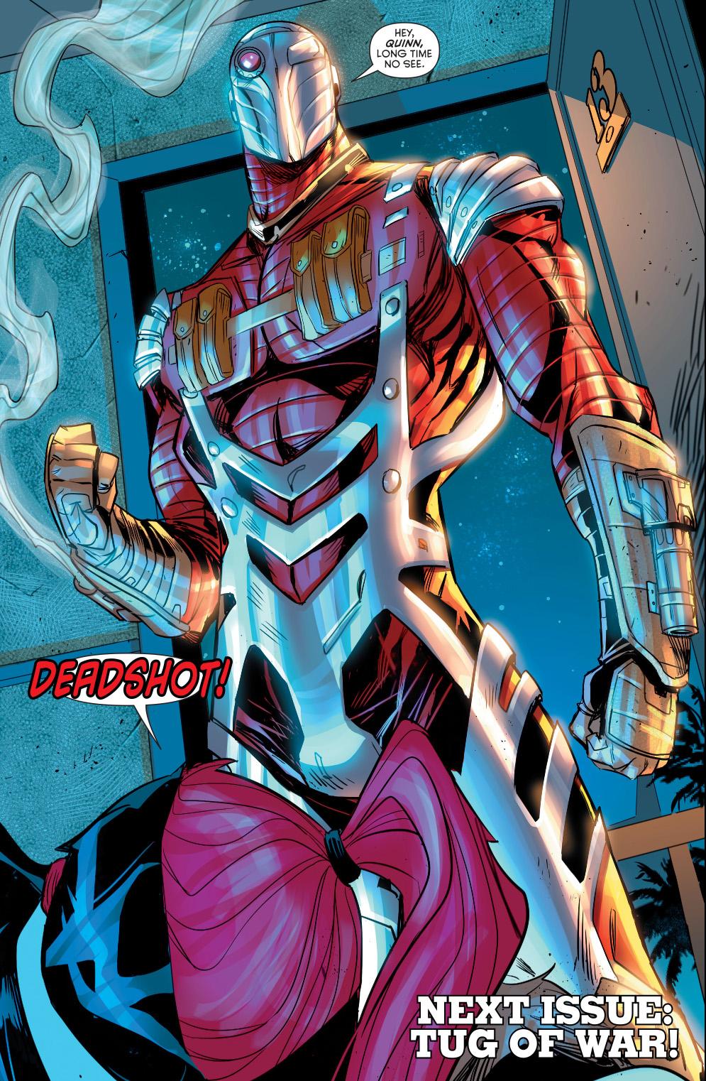 deadshot (harley quinn #20)
