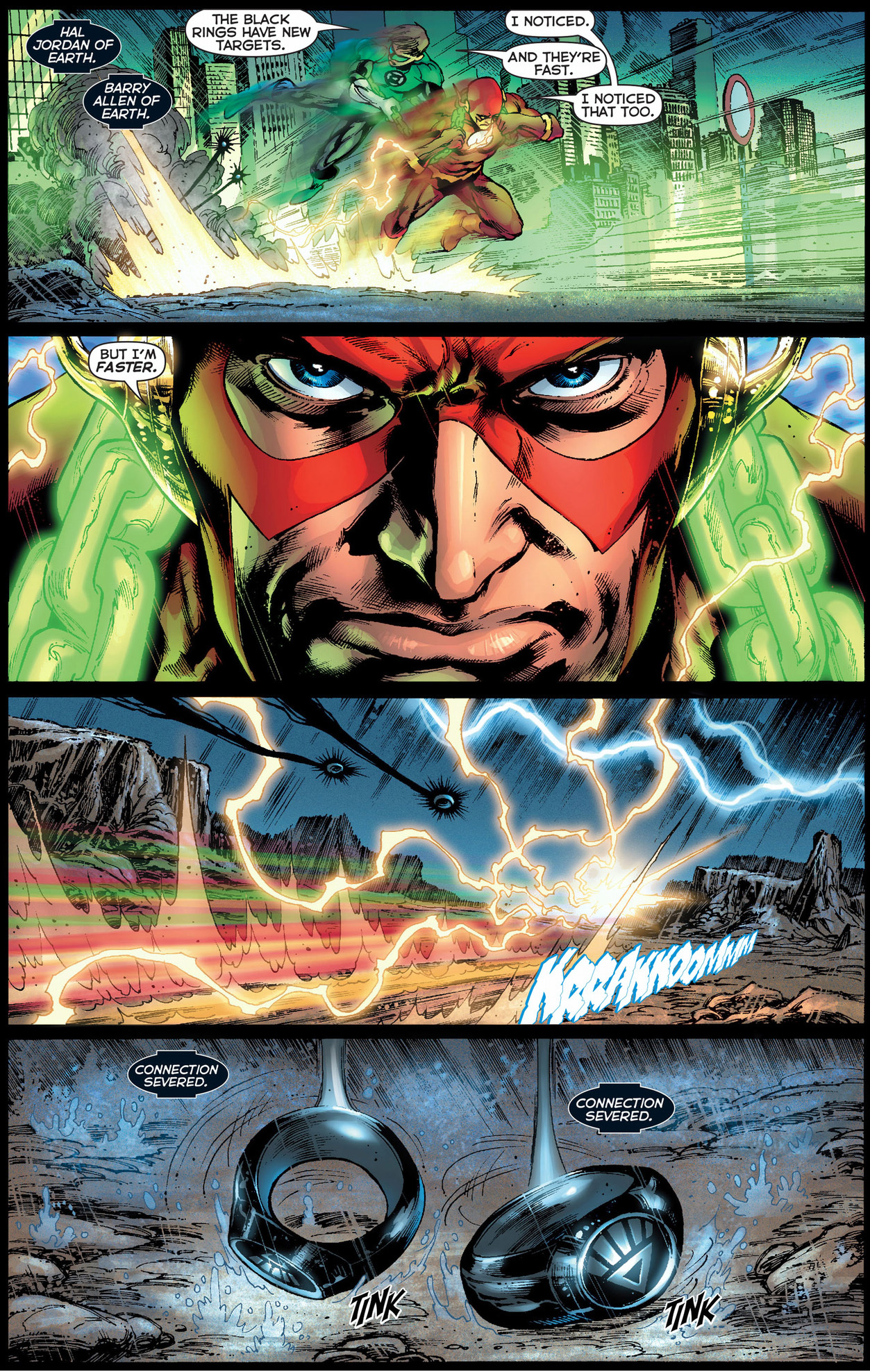 how the flash disabled a black lantern ring