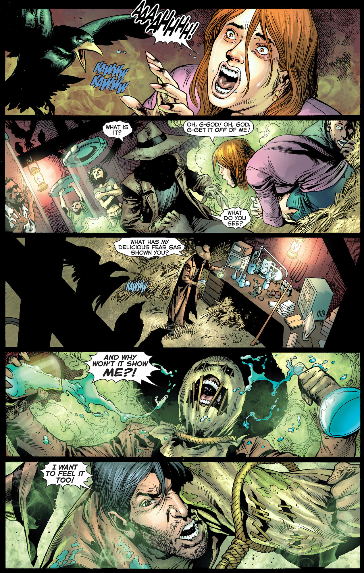 scarecrow joins the sinestro corps