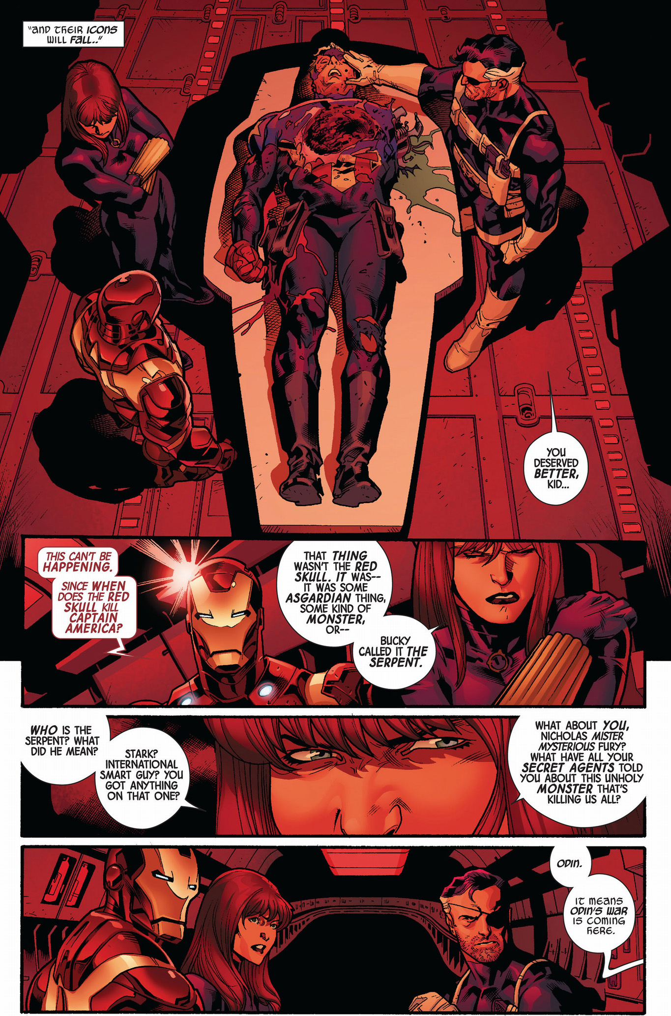 steve rogers becomes captain america (fear itself)