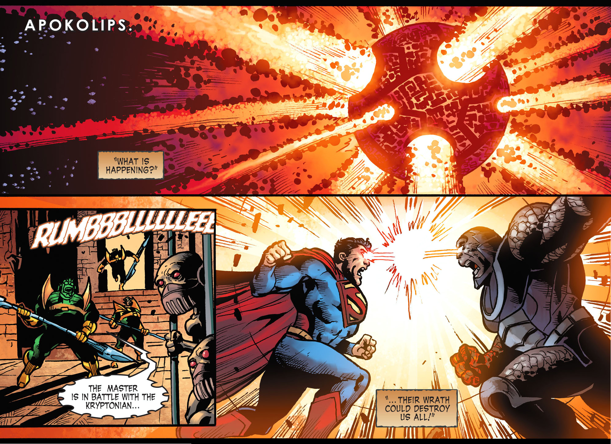 superman vs darkseid (injustice gods among us)