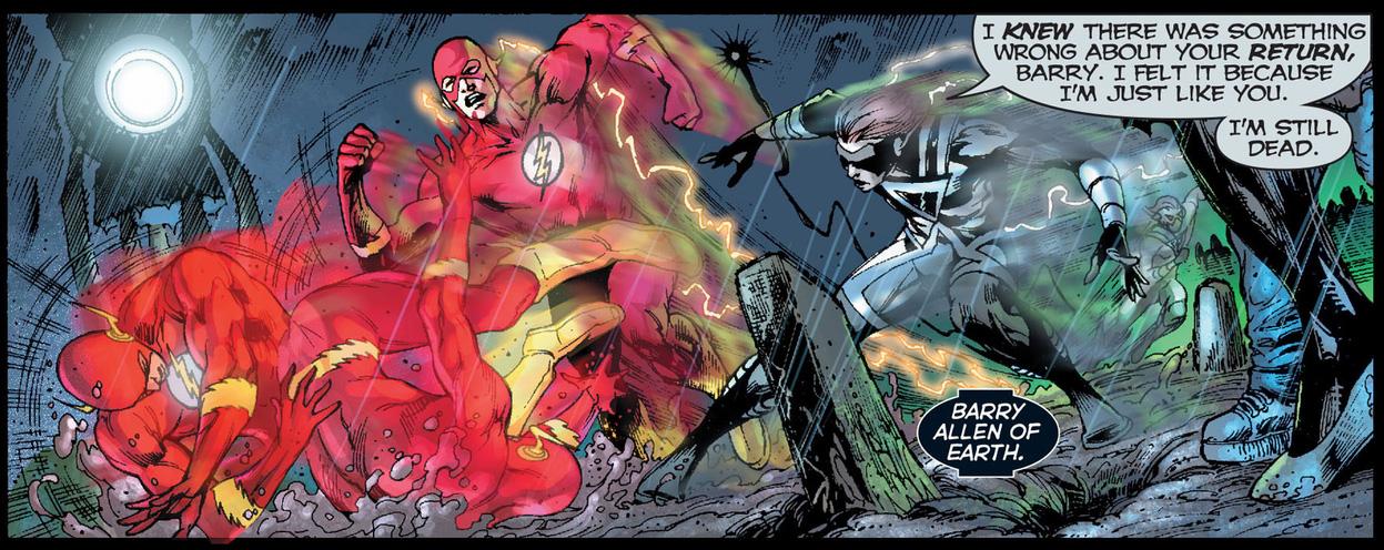 the flash vs black lantern kid flash
