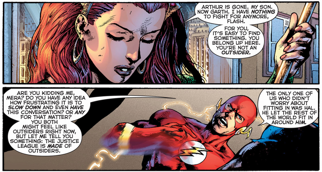 the problem with being the flash