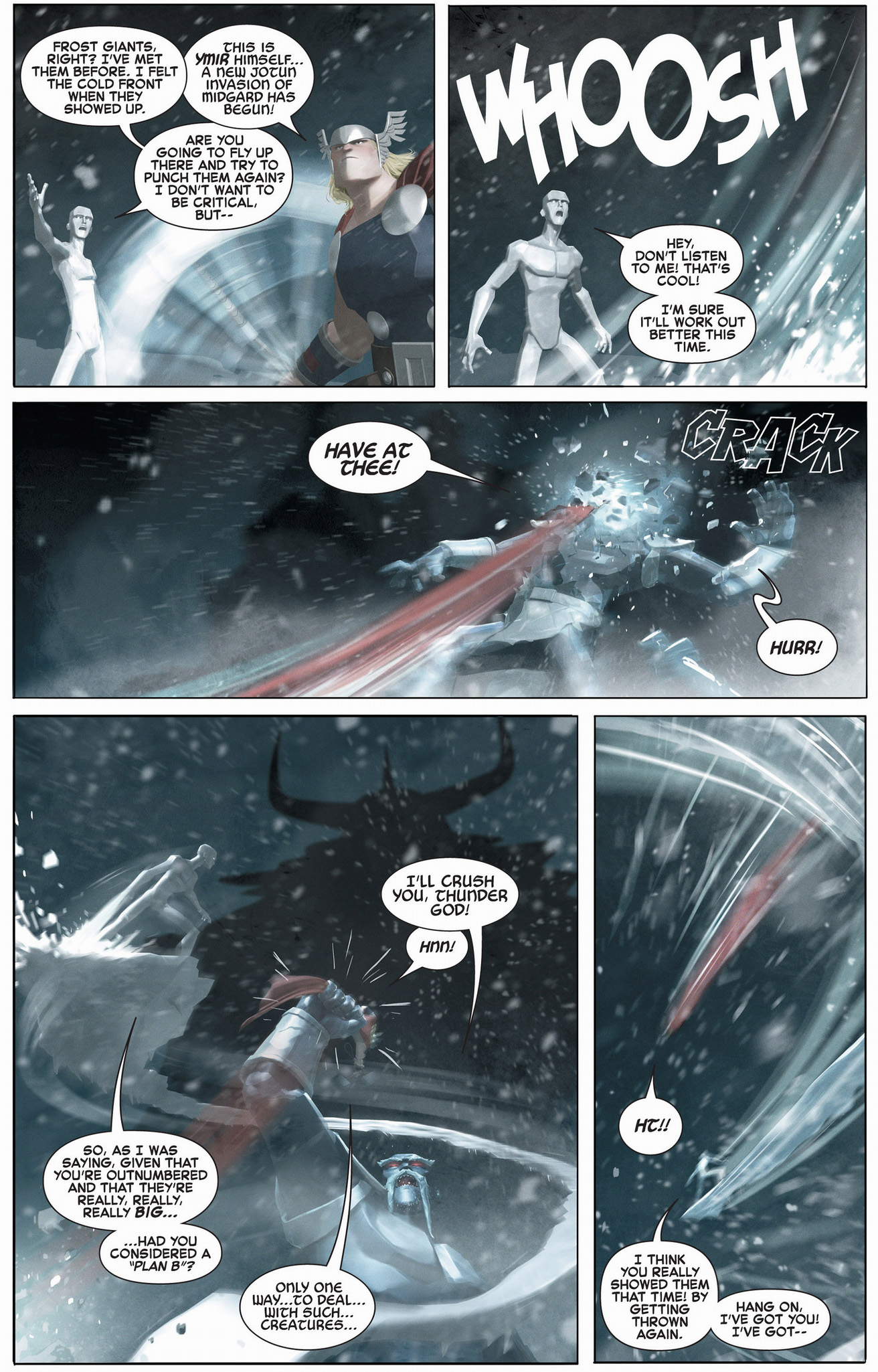 thor vs ymir and frost giants