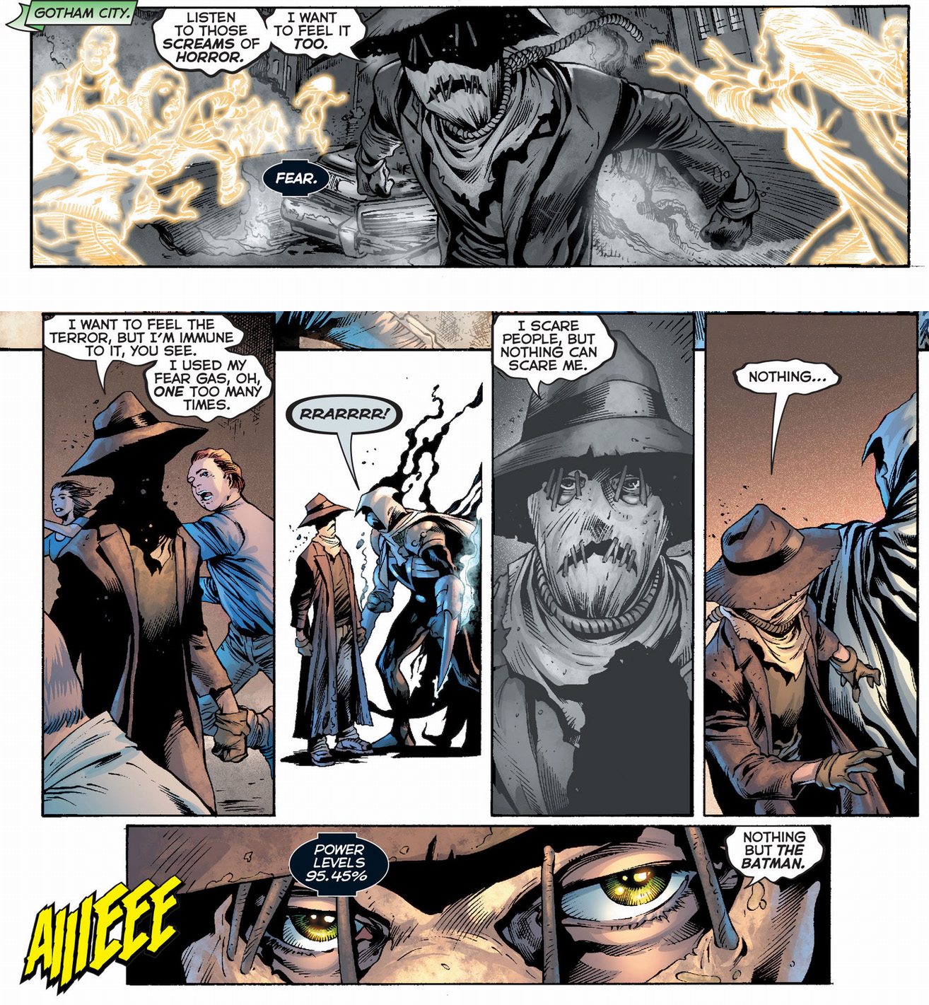 why the black lanterns can't detect the scarecrow