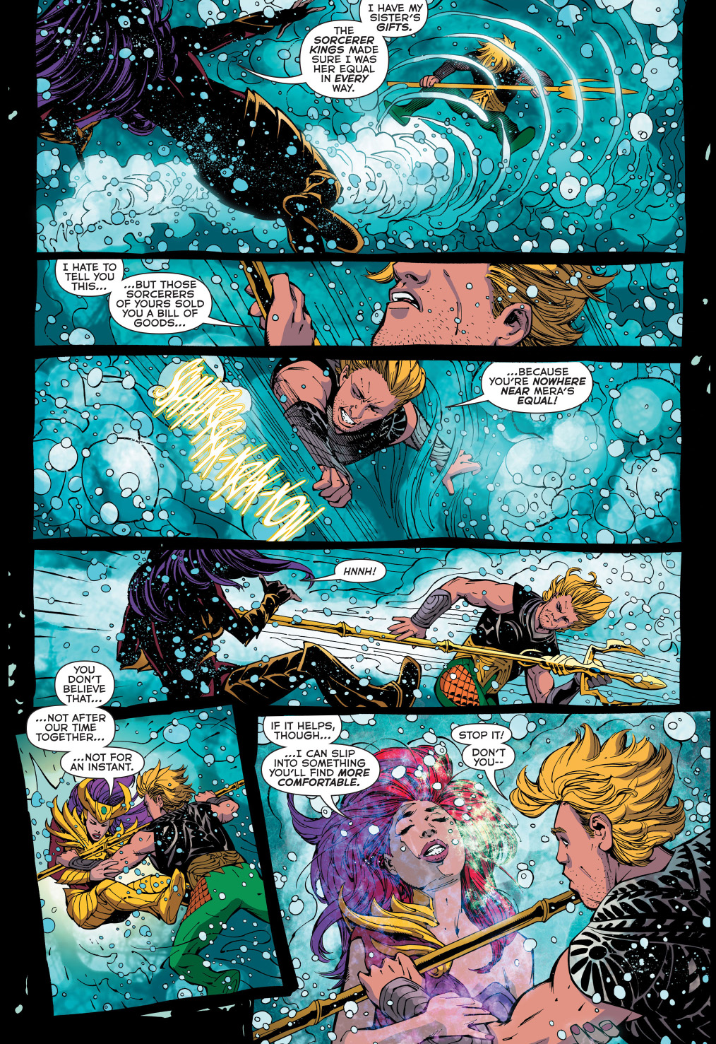 aquaman vs siren