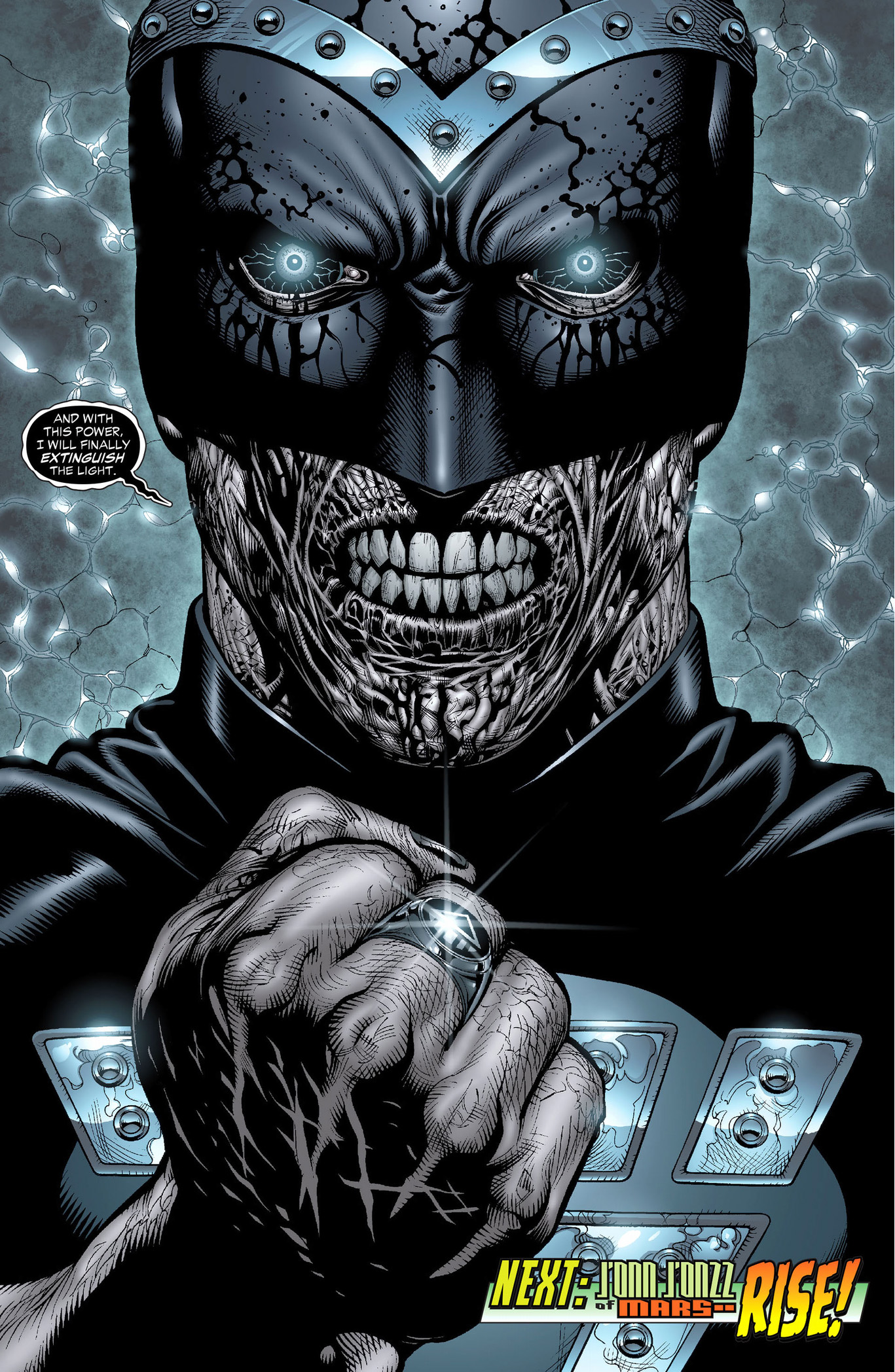 how black hand became the black lantern entity