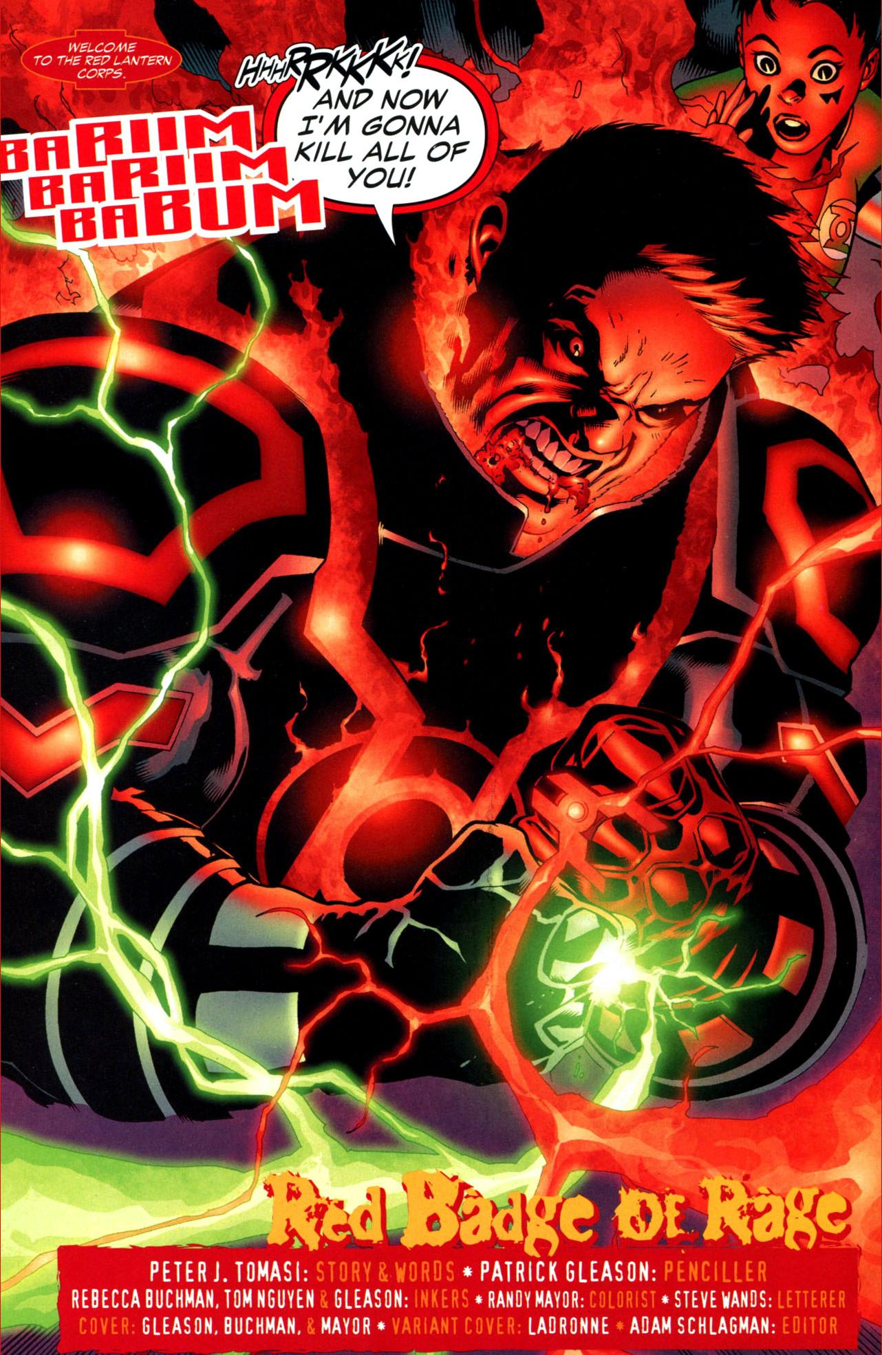 how guy gardner became a red lantern (blackest night)