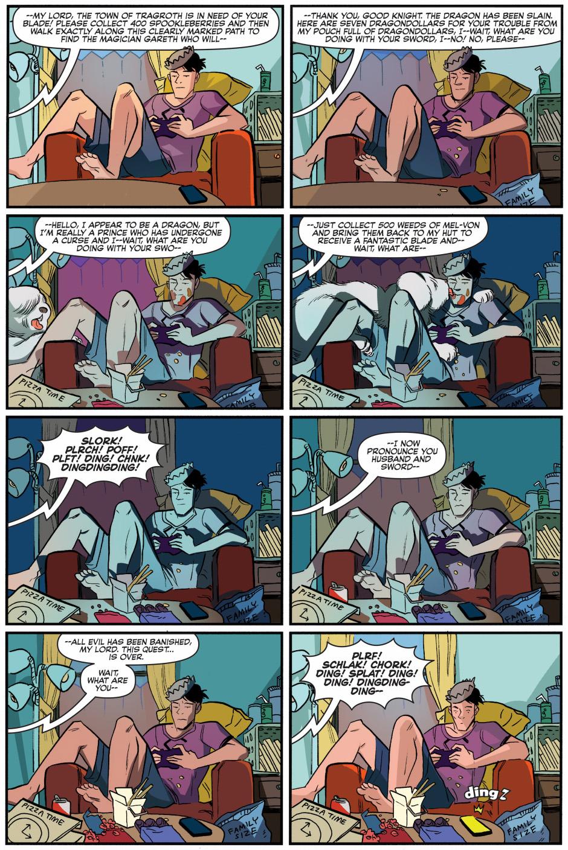 how jughead plays video games