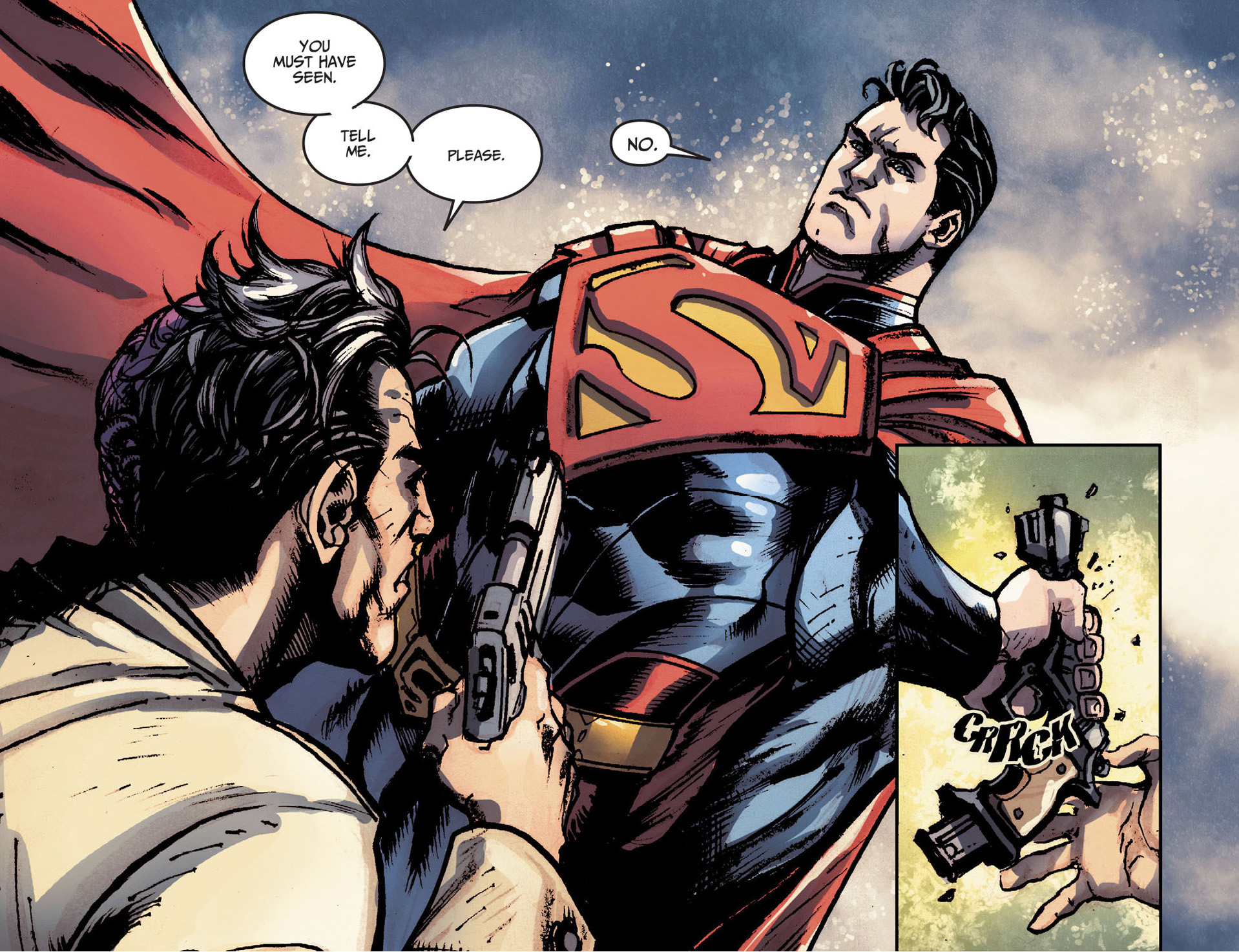 how superman screwed with two-face