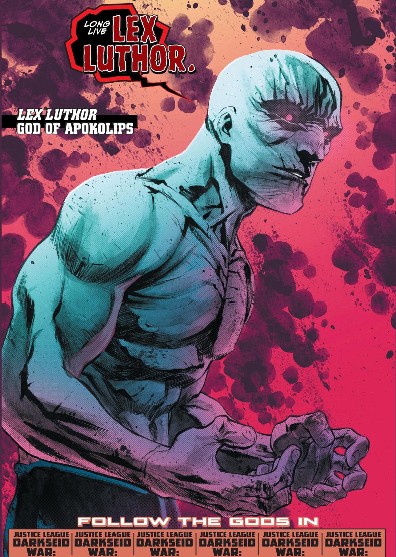 lex luthor becomes the god of apokolips