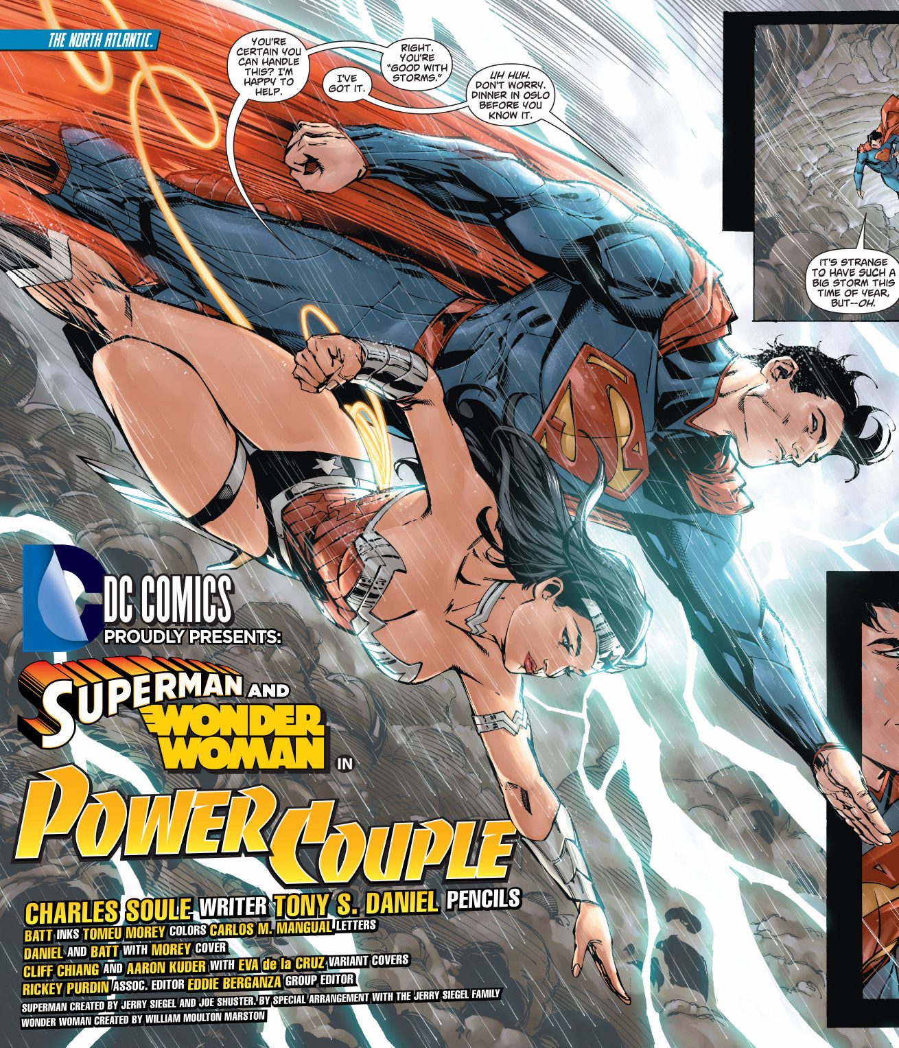 superman and wonder woman power couple