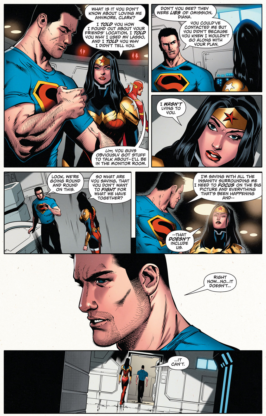 superman doesn't love wonder woman anymore