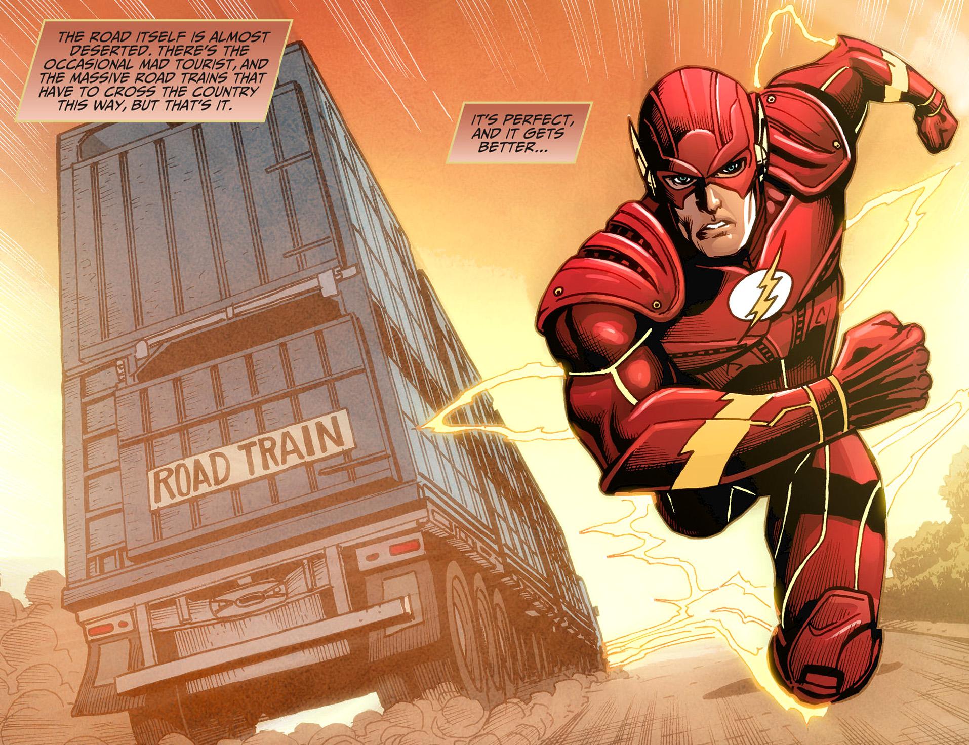 the flash runs the nullarbor