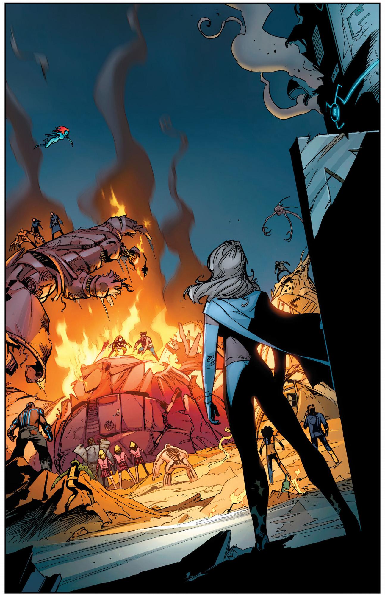 the x-men vs hellfire club sentinel
