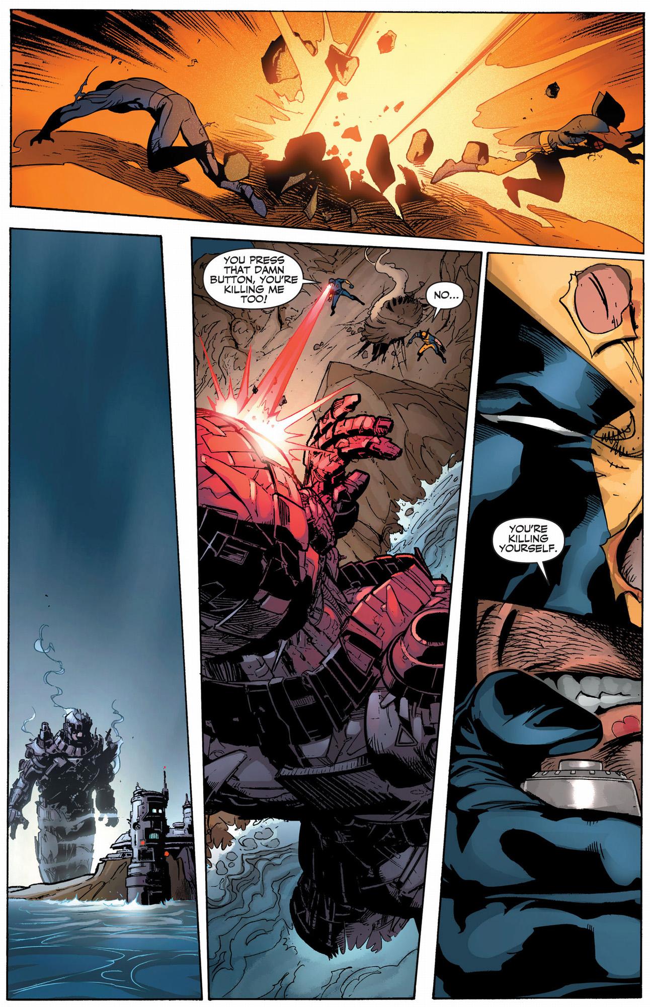 wolverine vs cyclops (schism)