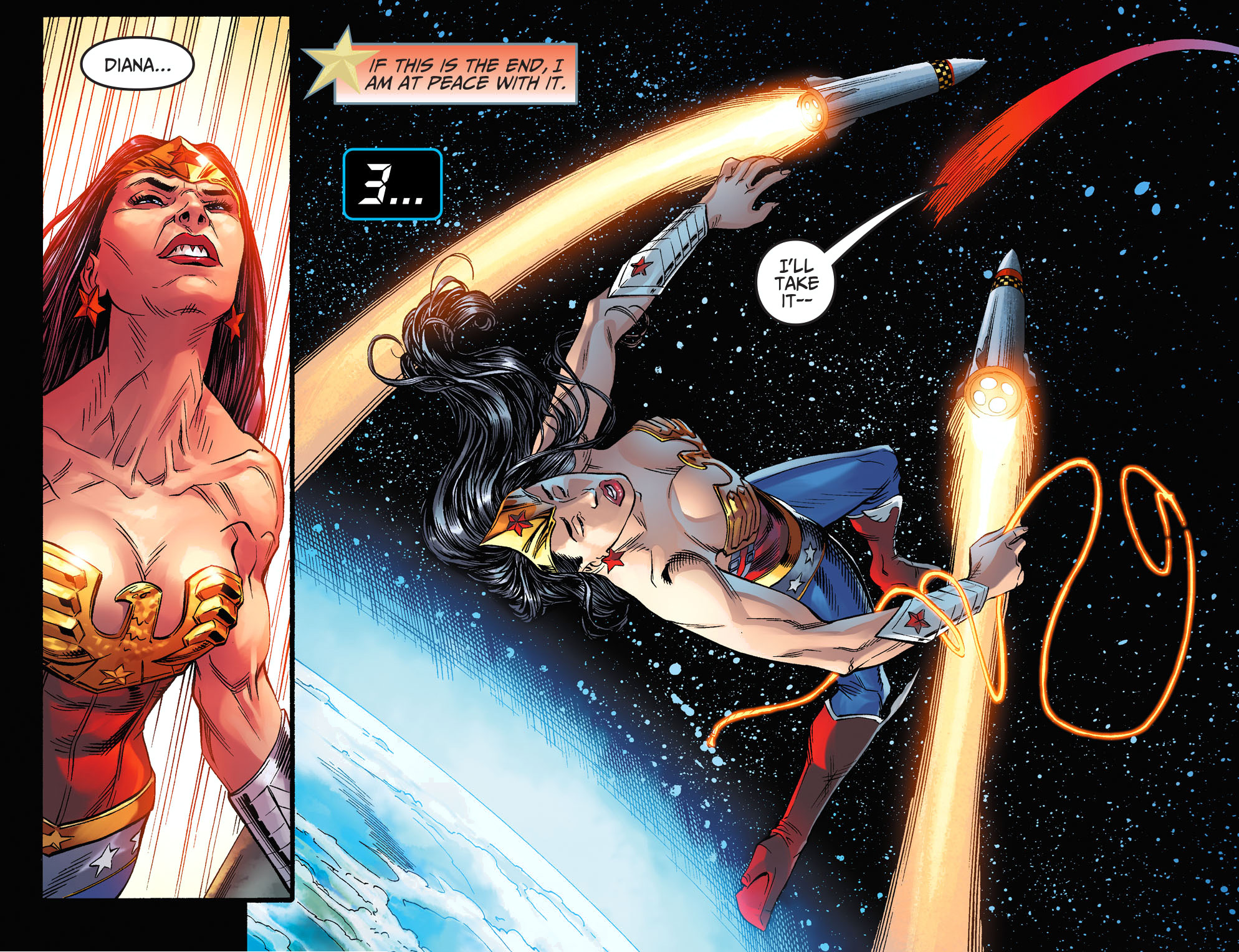 wonder woman vs 2 nuclear missiles 3