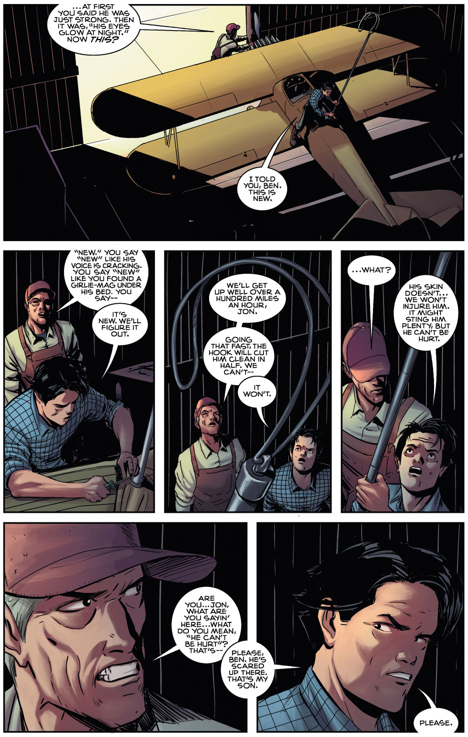 clark kent learns to fly (american alien) 1