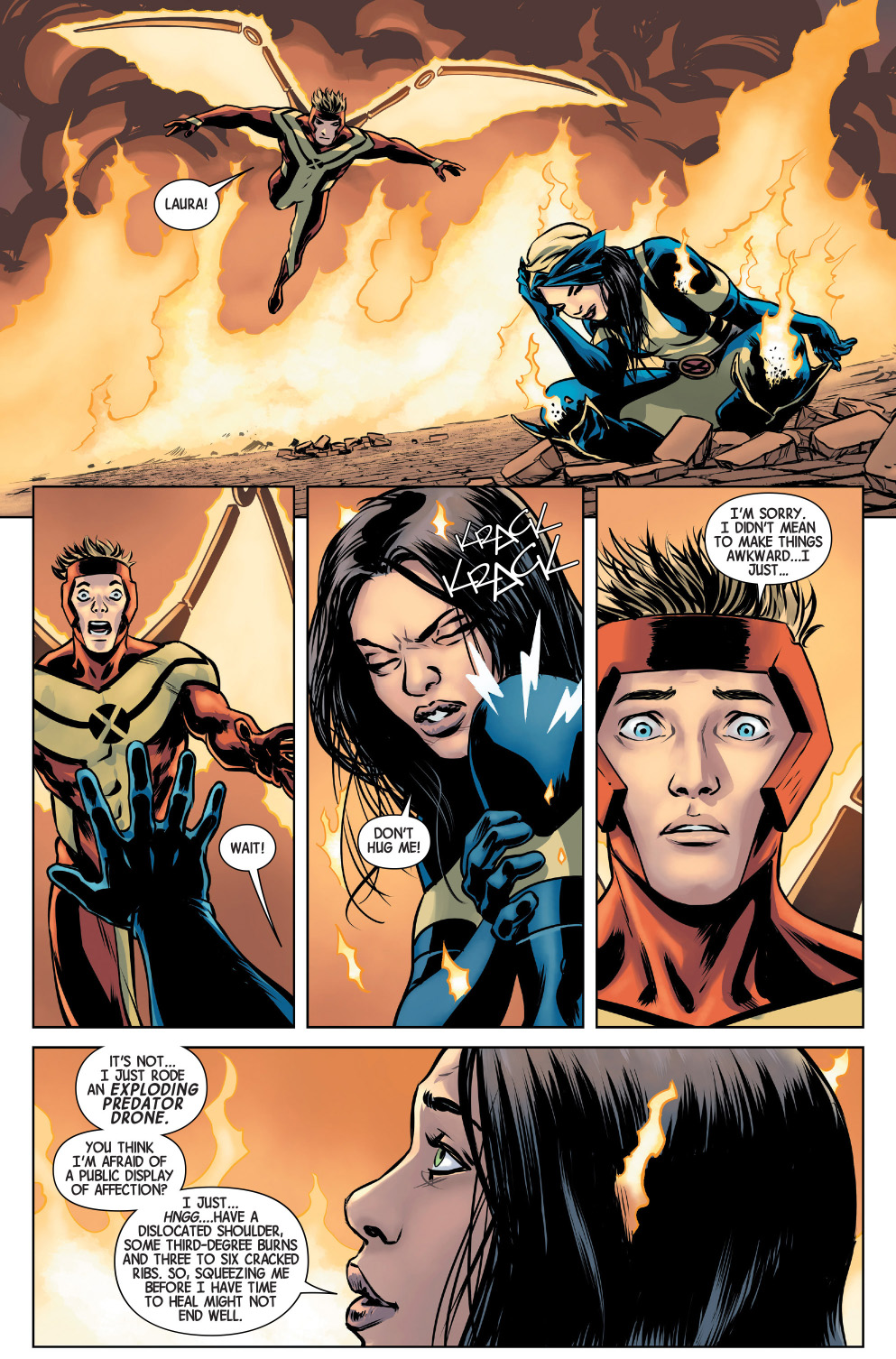 why you can't hug the new wolverine