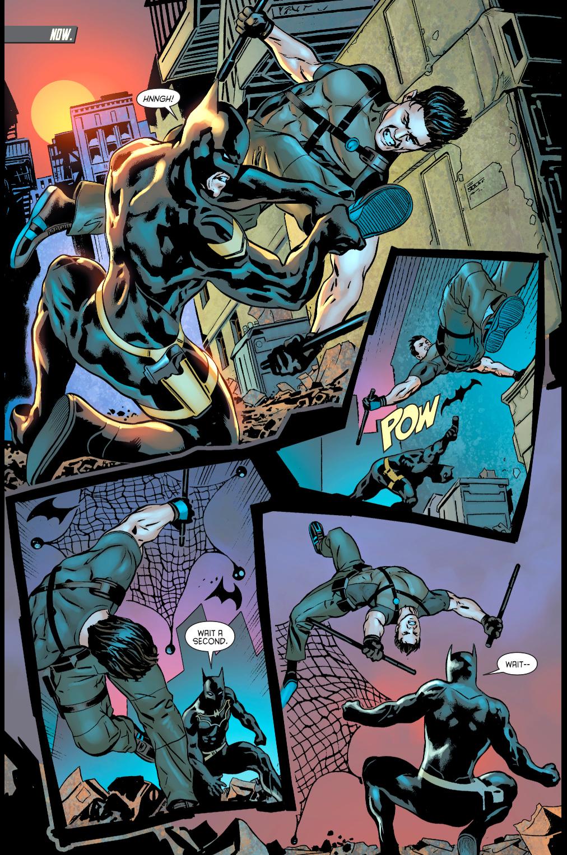 batman (jim gordon) vs dick grayson