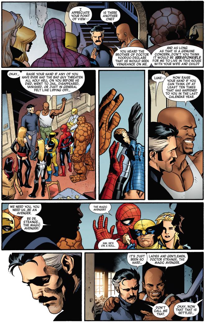 Luke Cage Recruits Doctor Strange To The New Avengers