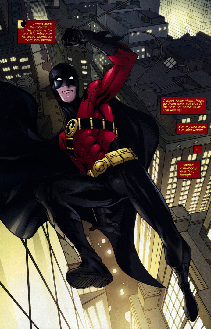 red robin (red robin 12)