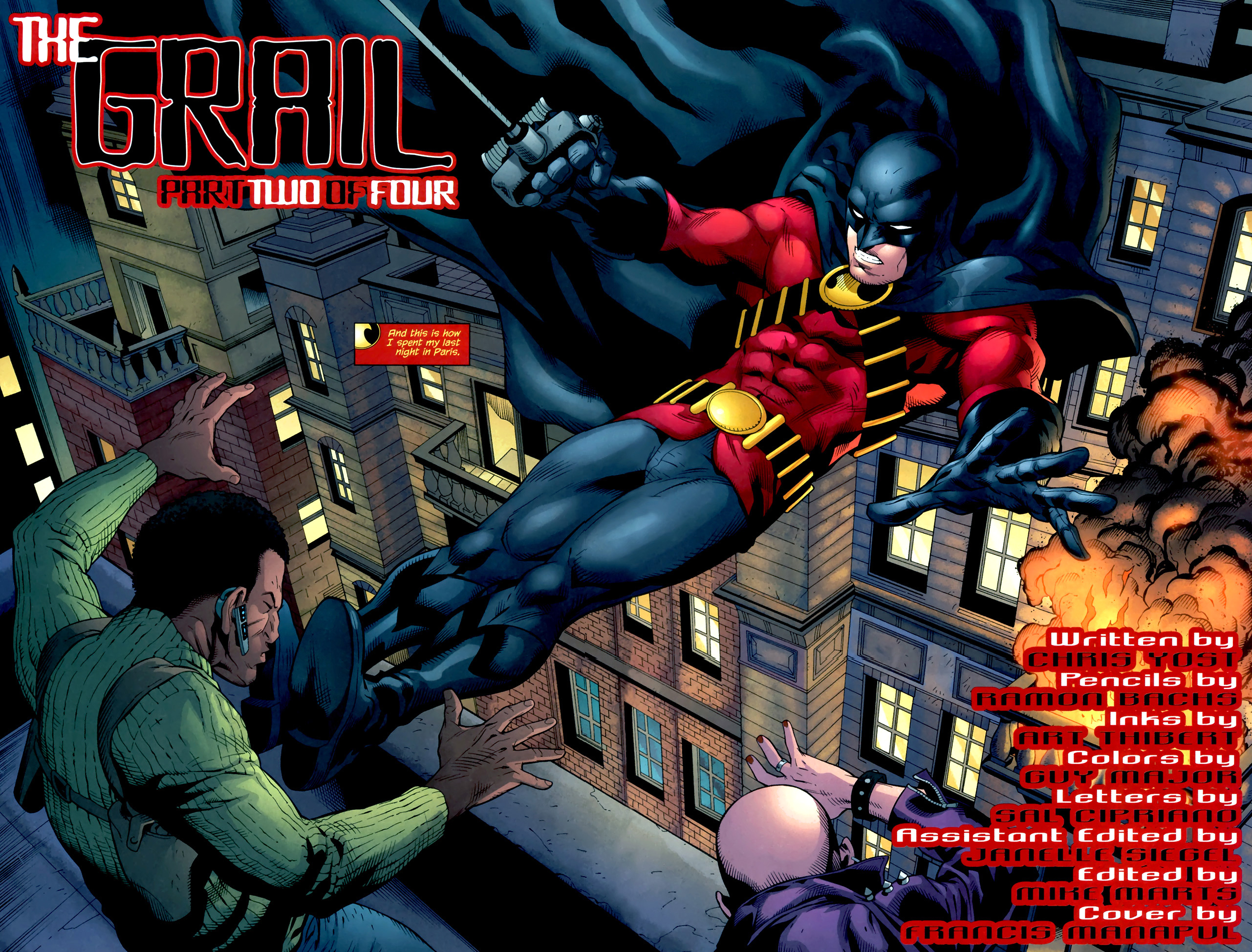 red robin (red robin #2)