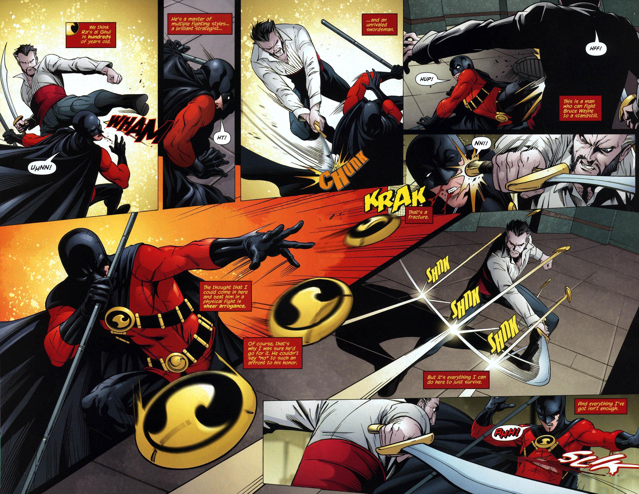red robin vs ra's al ghul