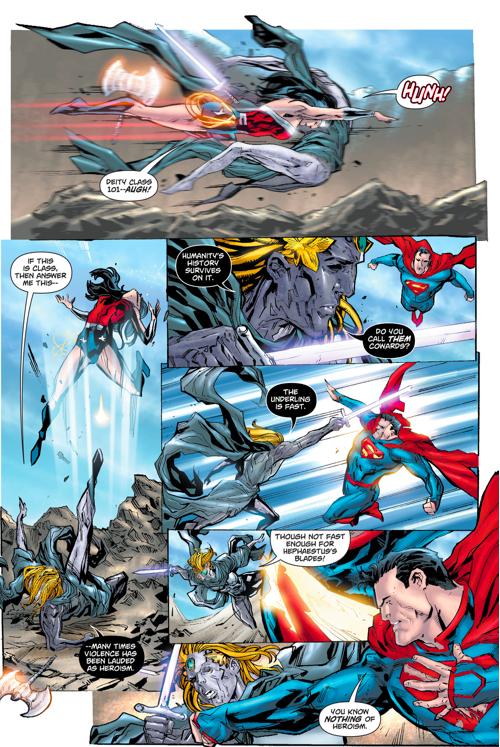 Superman And Wonder Woman VS Dichara