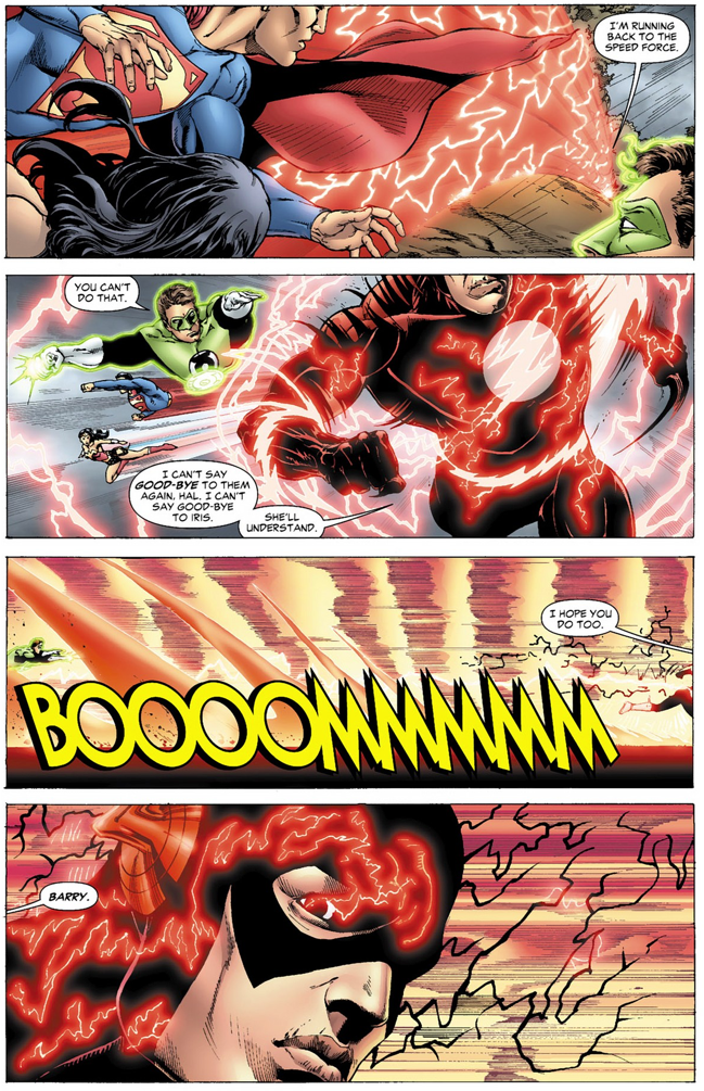 the flash is faster than superman