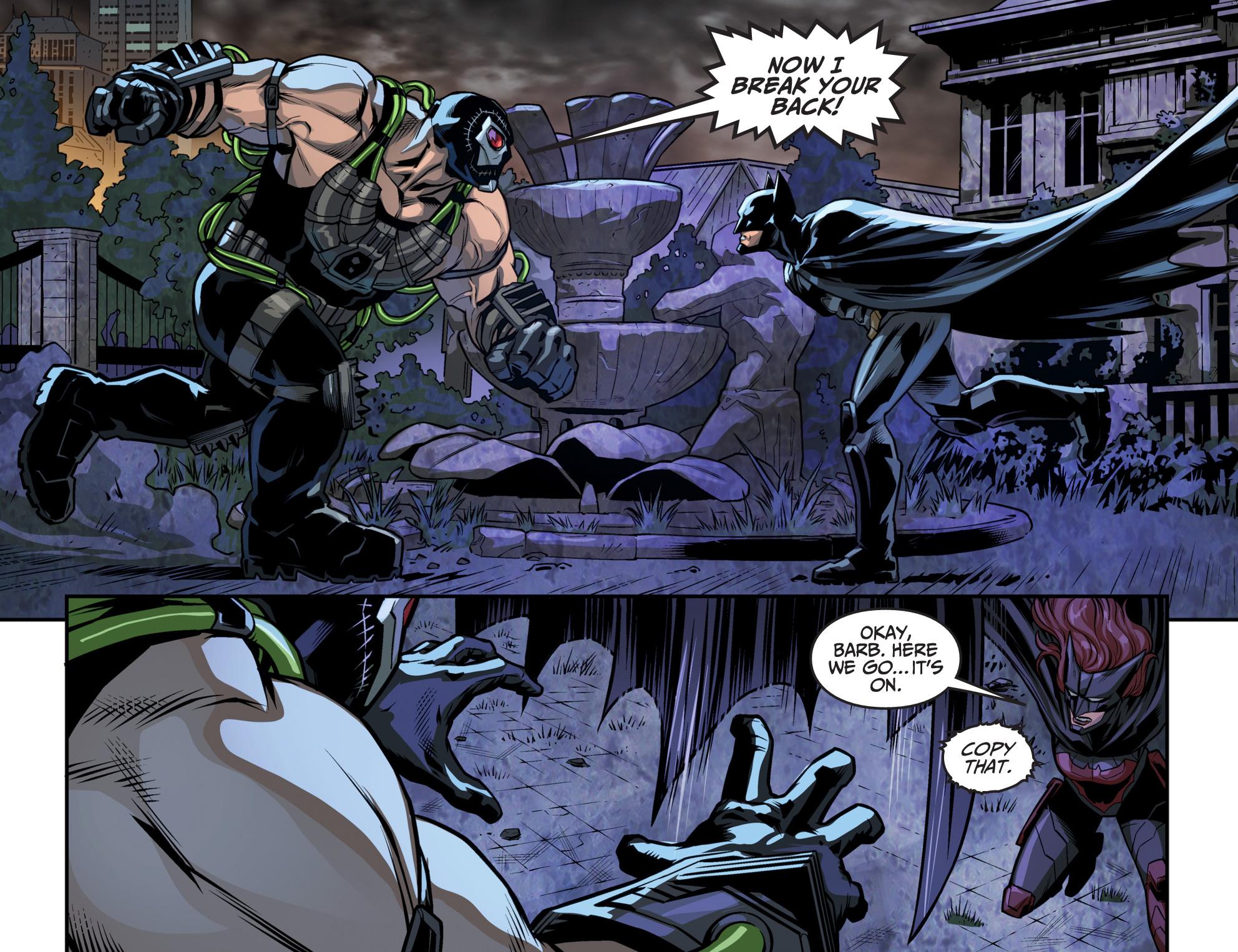 bane vs batman decoy (injustice gods among us)