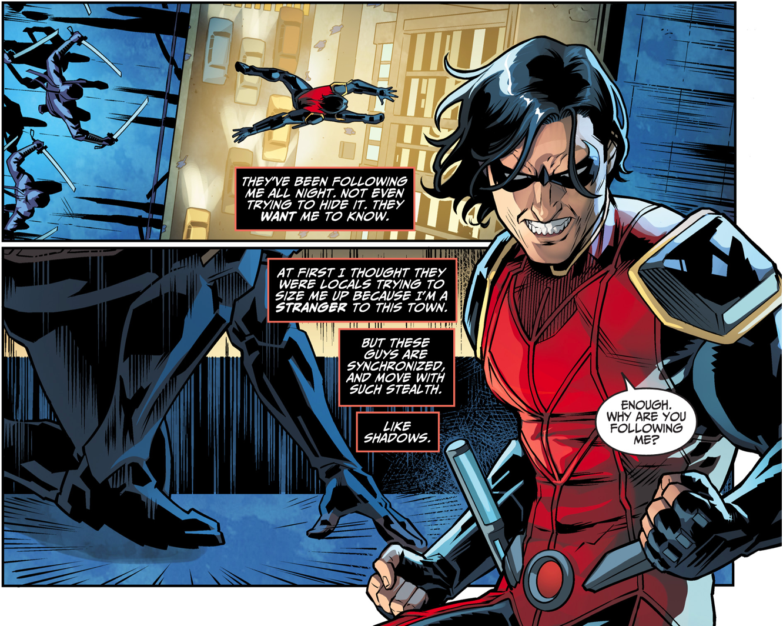 Damian Wayne As Nightwing (Injustice Gods Among Us)
