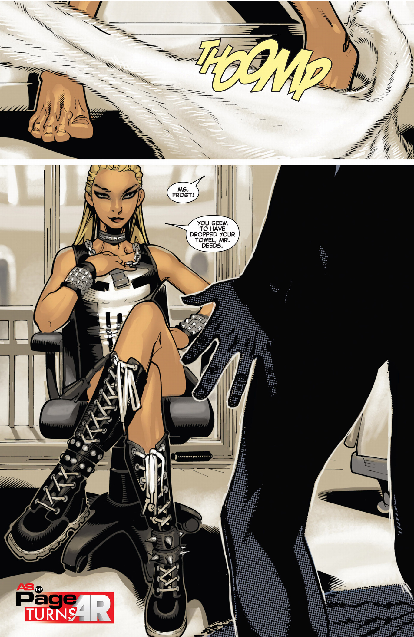 emma frost discovers morph's mutant power