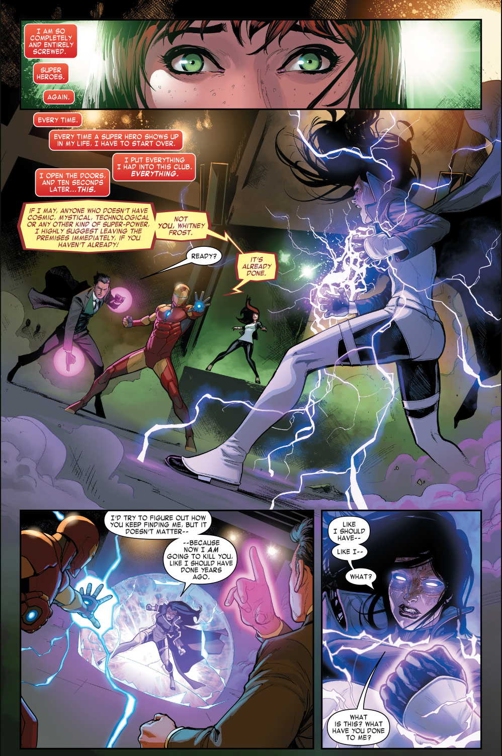 iron man and doctor doom vs madame masque