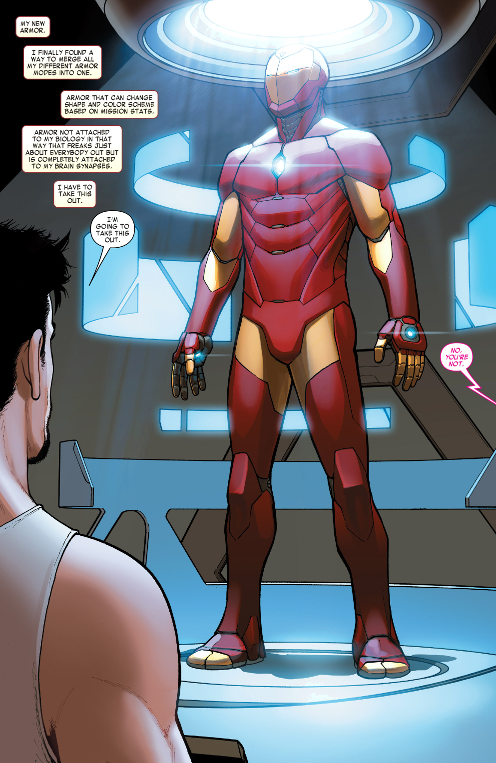 iron man's latest armor