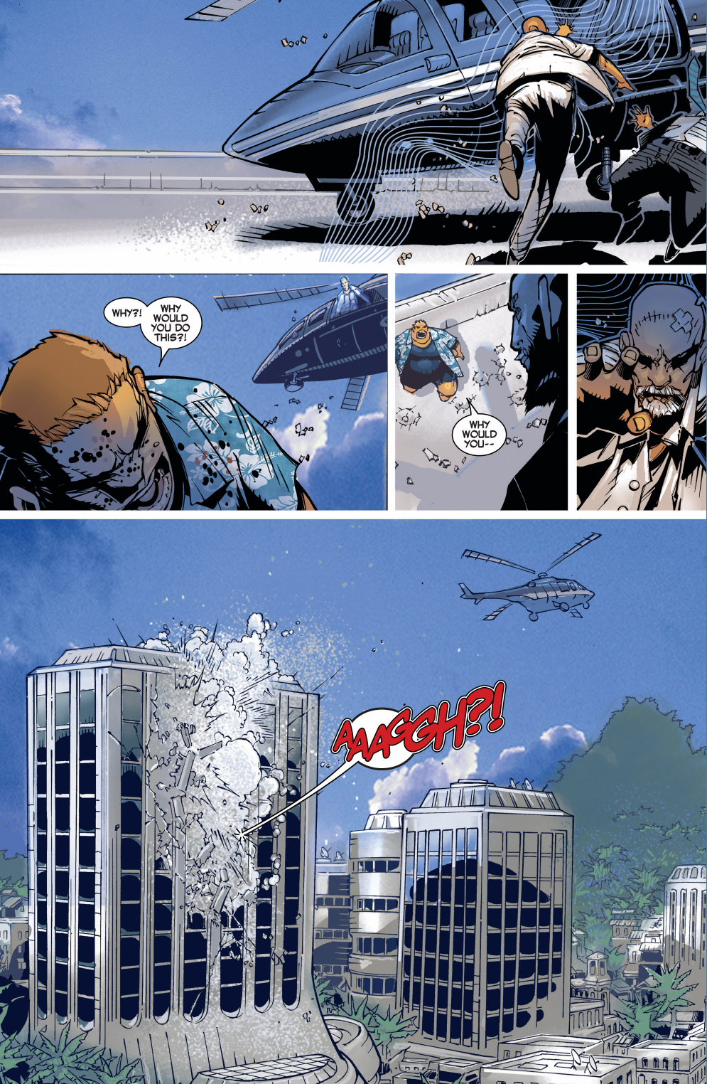 magneto takes down mystique, blob, sabretooth and silver samurai