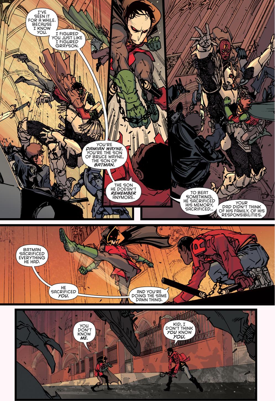 robin (damian wayne) vs duke thomas (robin war)