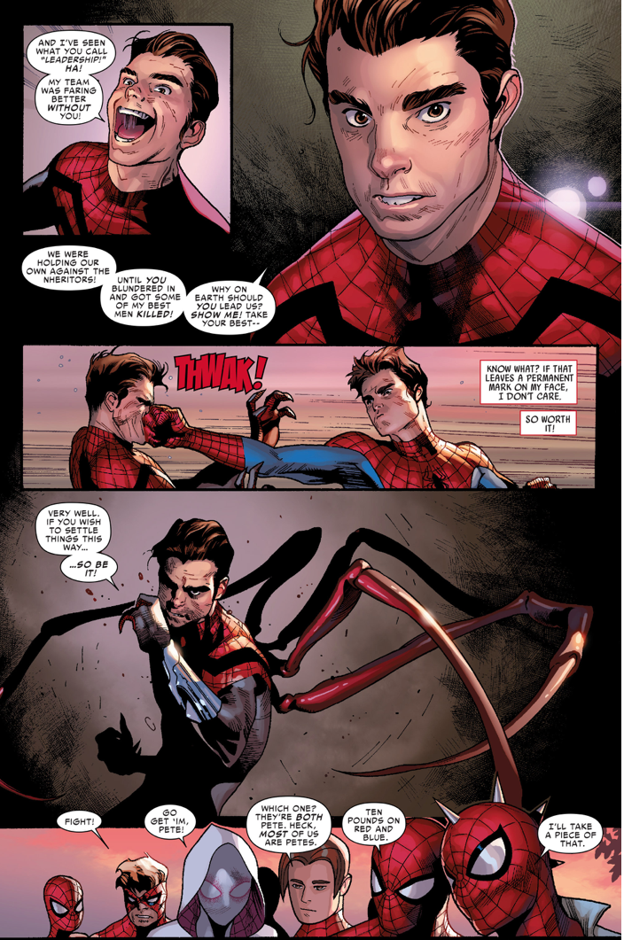 spider-man vs superior spider-man (Spiderverse)