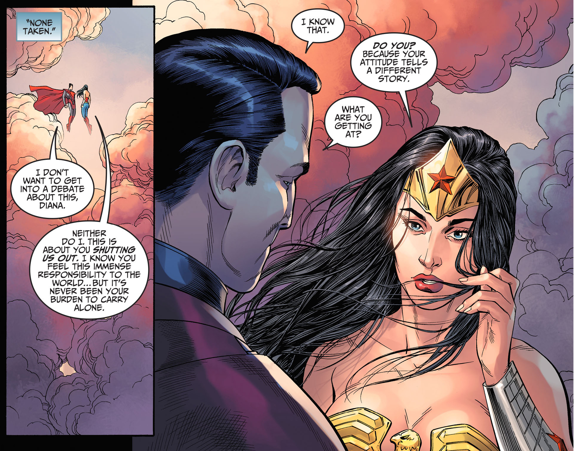 wonder woman does not work with criminals