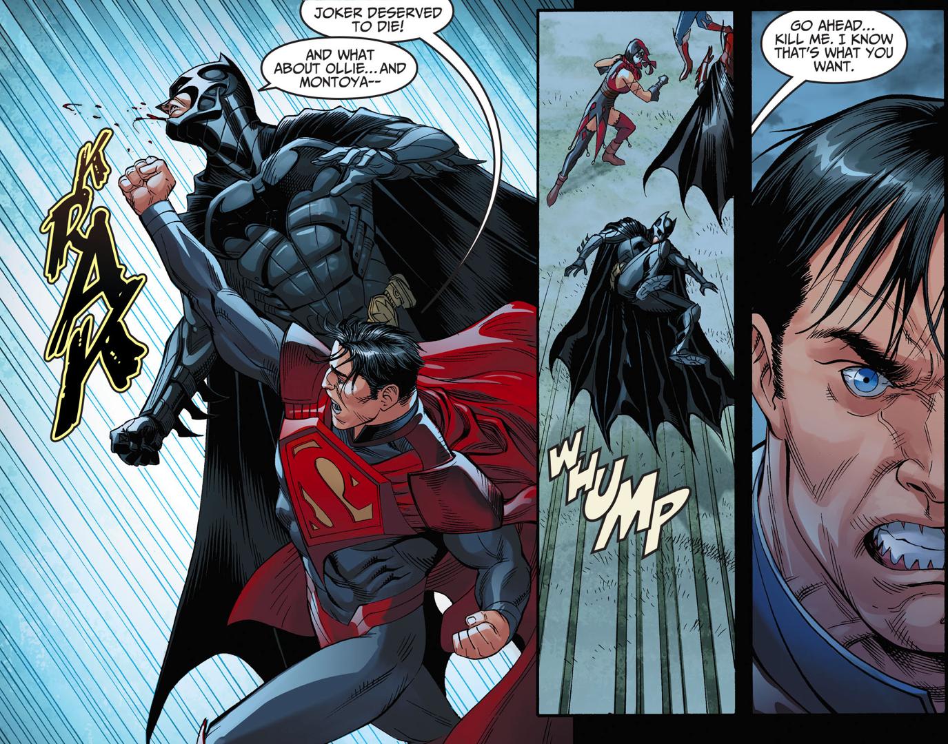 batman vs superman (injustice gods among us) vv