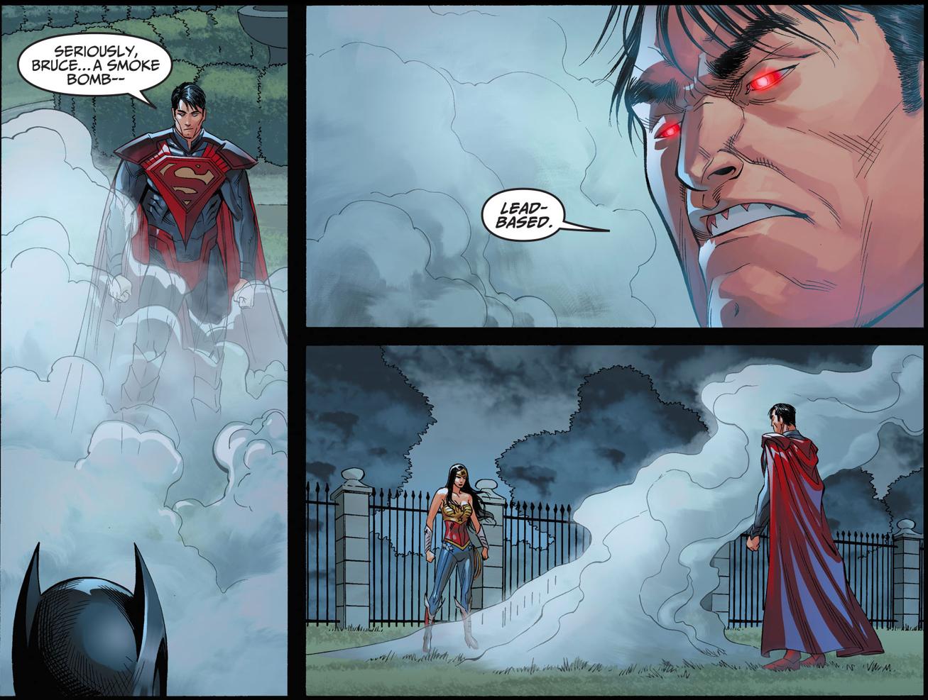 batman vs superman (injustice gods among us)